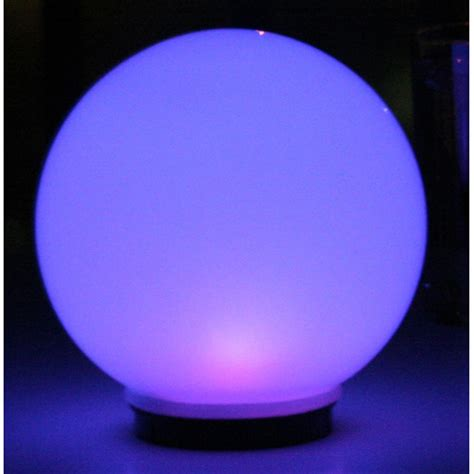 smart solar 8 quot programmable magic globe 210763 solar