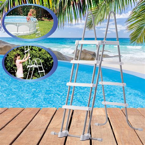 frame pool 366x122 intex 366x122 komplettset swimming pool schwimmbad frame metal stahlwand ebay