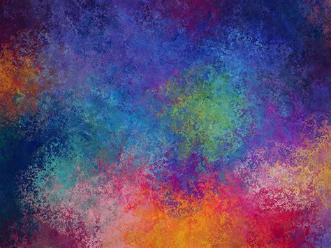 Desktop wallpaper texture colorful splatters hd image