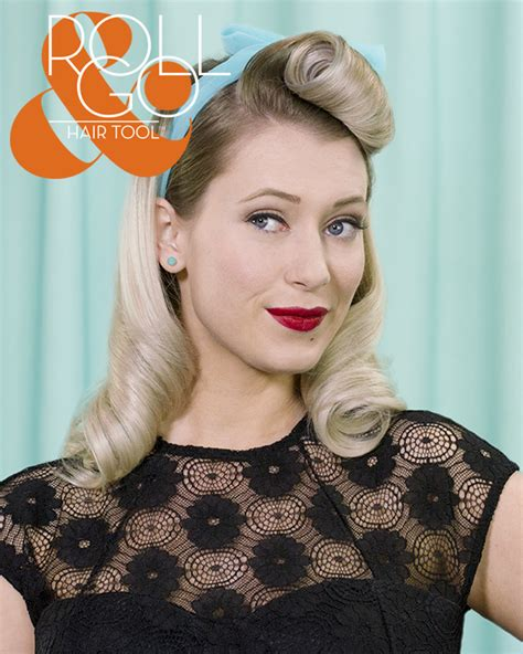 victory roll hair tool hairstyle inspirations