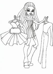 Free Printable Monster High Coloring Pages  Abbey I Love Fashion Coloring Sheet