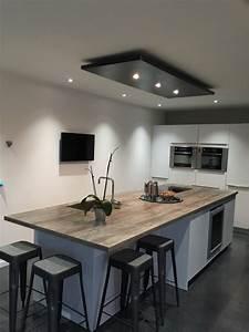 Eclairage Moderne : lustre pour cuisine eclairage design salon marchesurmesyeux ~ Farleysfitness.com Idées de Décoration
