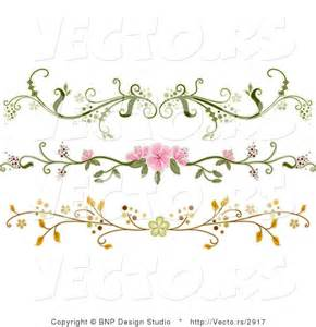 Flower Divider Clip Art Free