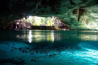 Cave Caves Underwater Wallpapers Yucatan Mexico Cool