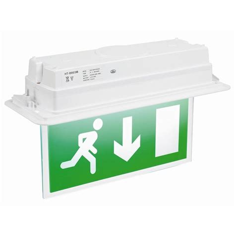 fusion led 8w t5 luminaires exit signs emergency