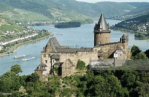 Castle Stahleck And Rhine River Bacharach ...