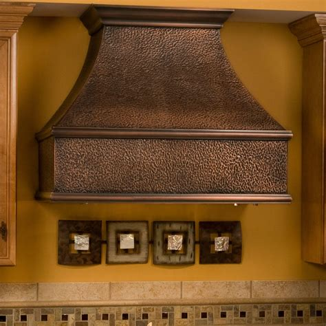 kitchen island exhaust hoods 36 quot tuscan series copper wall mount range kitchen