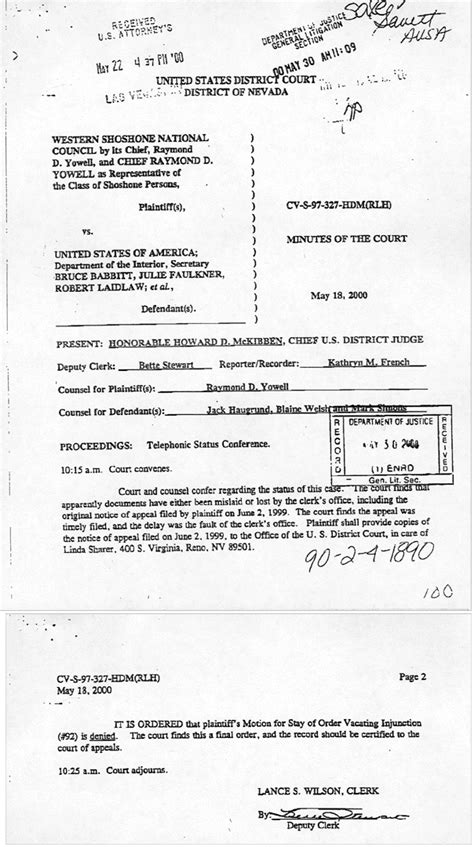 Complaint of Judicial Misconduct - District Court
