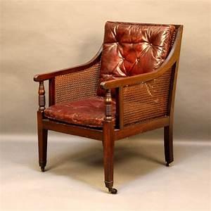 Regency, Bergere, Library, Chair