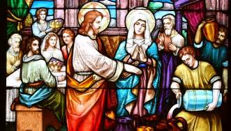 wedding at cana scripture for the luminous mysteries keen for god
