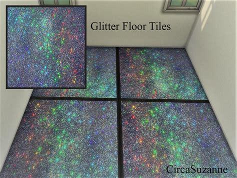 circasuzannes galaxy glitter floor tiles
