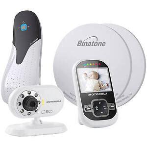 Baby Monitor And Sensor Mat - new motorola mbp26 digital baby monitor babysense