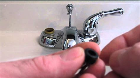 repair  washerless faucet plumbing tips youtube