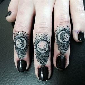 Moon Phases Tattoos Designs, Ideas and Meaning | Tattoos ...