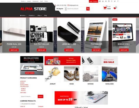 Woocommerce Themes 35 Best Free Woocommerce Themes For 2018
