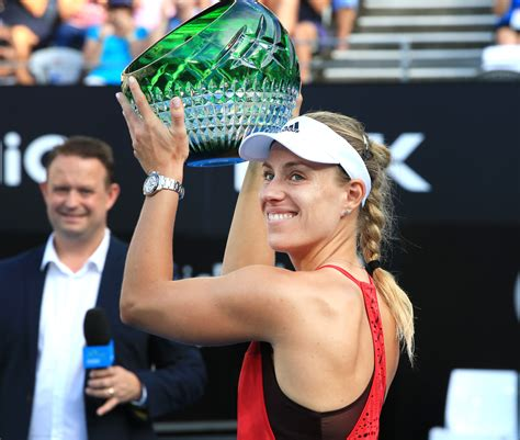 I'm going without expectations, like i played here: Kerber To Defend Sydney International Title - Tennis TourTalk