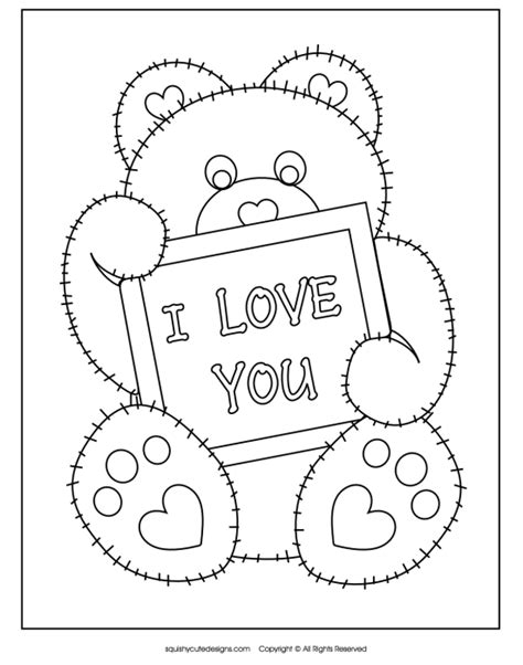 """Free valentine coloring pages for kids i heart nap time. """"Love"""" Centered F.H.E. with Free Printables 