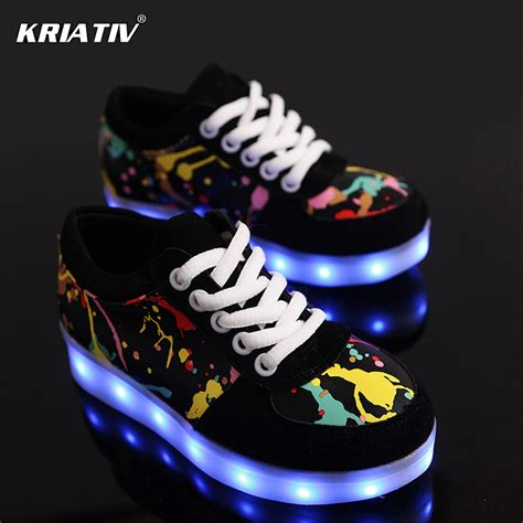 led light shoes for kid aliexpress buy kriativ usb charger children led