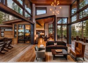 mountain home interior design ideas mountain modern lodge transitional living room san francisco by greenwood homes
