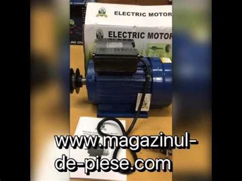 Motoare Electrice Second by Motor Electric Monofazat 1 5 Kw 1400 Rpm Micul Fermier