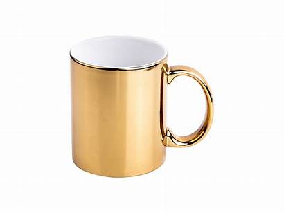 Mug Ceramic Gold Plated 11oz Mugs Bestsub