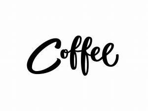 Coffee lettering by hoffmander dribbble for Coffee letters