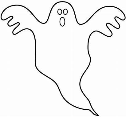 Ghost Coloring Ghosts Printable Geist Halloween Gespenst