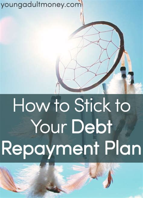 stick   debt repayment plan young adult money