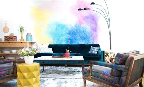 diy wall murals   untalented creatives squarerooms