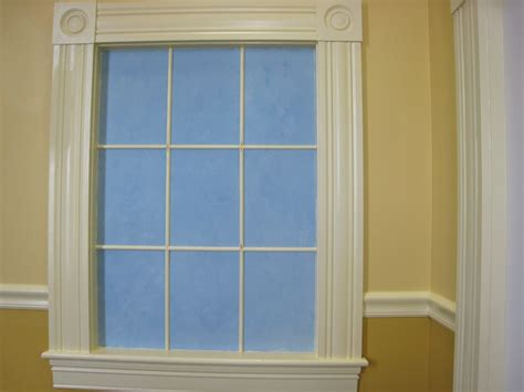 Window Crown Molding by Crown Molding Around Windows For The Home