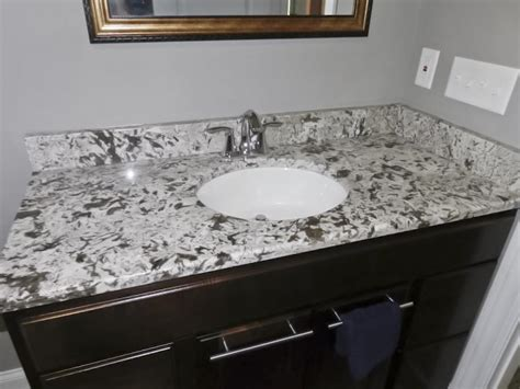 bathroom granite installations akron granite countertops