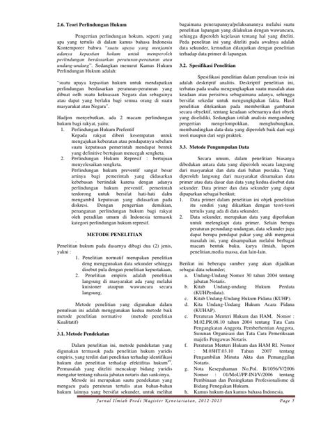 Jurnal Ilmiah MKn Unud April 2012