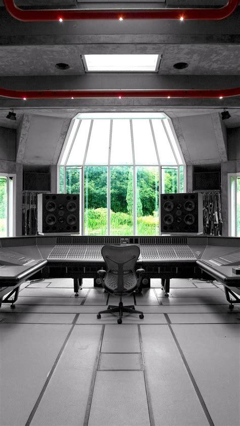 abstract  recording studio wallpaper