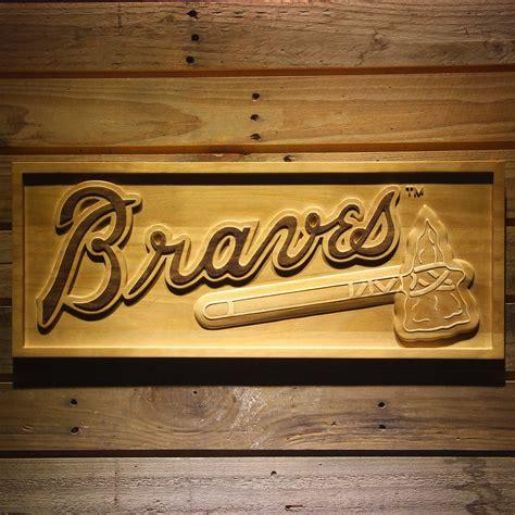 Find great deals on ebay for atlanta braves sticker. Atlanta Braves MLB Baseball Team Wooden Sign Wall Art Home Decor - Baseball-Other
