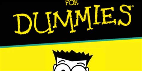 For Dummies by 11 For Dummies Books That Are Actually For Dummies