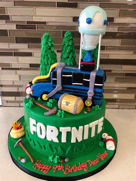 fortnite fondant birthday cake rashmis bakery