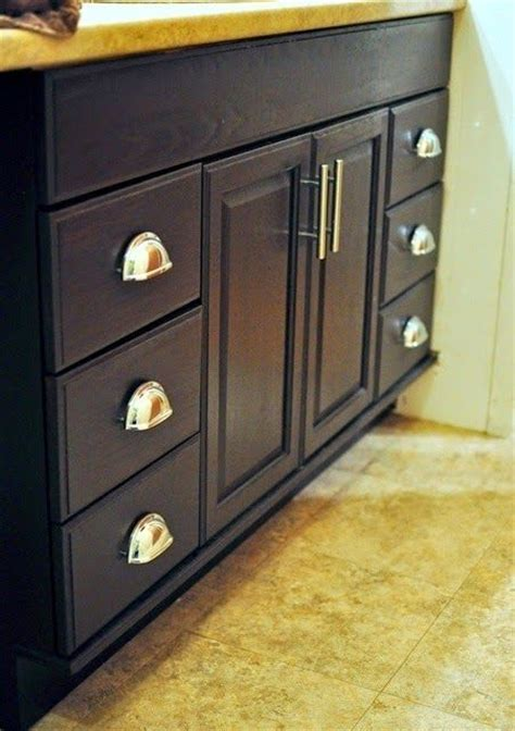 how to stain oak cabinets staining oak cabinets an espresso color diy tutorial