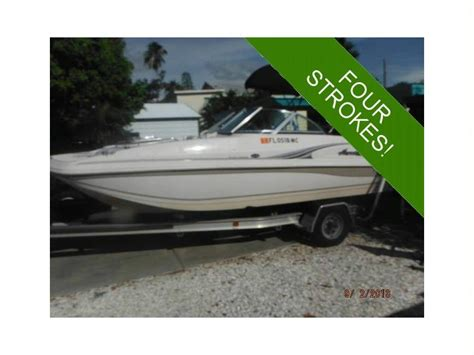 Hurricane Deck Boat Dimensions by Hurricane 187 Sundeck In Florida Power Boats Used 49101