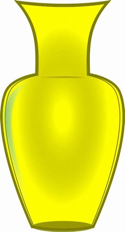 Vase Clipart Yellow Clip Transparent Transparentpng Webstockreview
