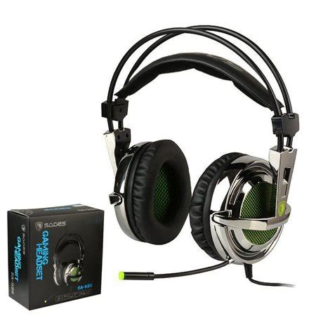 Sades Sa 968 Gaming Headset sades sa 928 gaming headset stereo lightweight pc gaming
