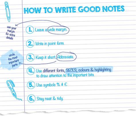 How To Write Notes To Study Teachervisionwebfc2com