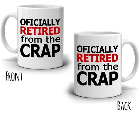 Officially Retired For Men And Women Gift Mug, Funny Retirement Gag Gi Baby Gift Thank You Poems Cake Hampers Kindle Book Not Received Food Baskets Under  On The High Street Idea Student Tata Guru Catalogue 2017 Ideas Outdoors