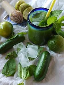 Thé Vert Froid : agua fresca concombre citron vert menthe du froid du frais du vert pour la foodista ~ Melissatoandfro.com Idées de Décoration