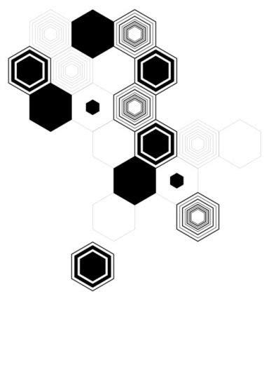 Geometric Hexagons | Hexagon tattoo