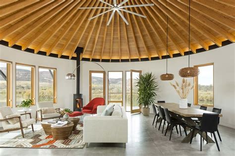 Photo 3 Of 9 In A Yurt-inspired Vacation Home On The High