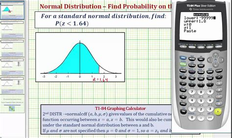probability less than score value given