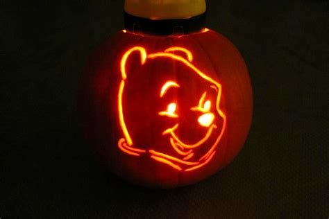 Winnie The Pooh Pumpkin Carving Templates by Tam Pumpkin Carving