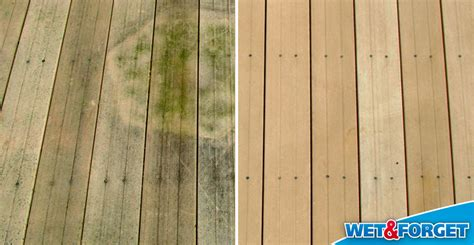 cleaning wood deck with ask forget defeat fall mold and mildew with