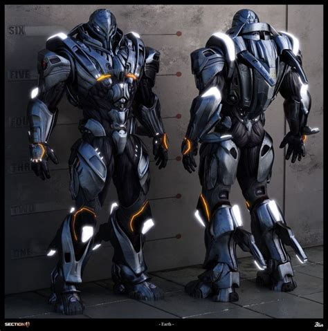 armor si鑒e social sci fi armor concept the awesome power of battlesuit