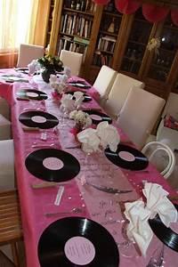 Deco Table Anniversaire Femme : d co de table 60 ans de mariage blog z dio ~ Melissatoandfro.com Idées de Décoration